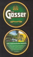 BD - Beermat , Österreich, Brauerei Gösser  aus Leoben / Göss