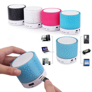 Details about Mini Portable LED MP3 Music Player Speaker TF USB Play Music  Sound Subwoofer Hot