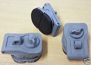 3 x Clamp On Awning Brackets - Universal Awning Clamp-On Bracket