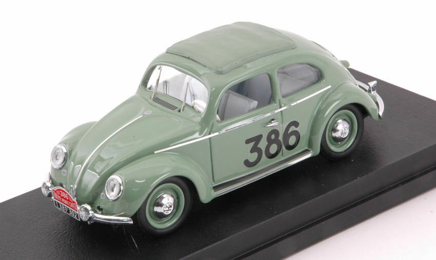 Volkswagen VW Maggiolino  386 98th Monte Carlo 1954 Prager   Culbert 1 43 Model