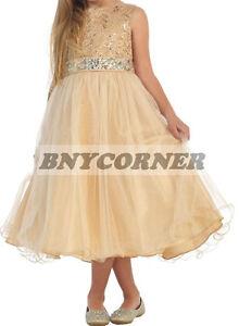 Navy Blue Rhinestone Belt Gem Flower Girl Dress Bridesmaid Wedding Formal Dance