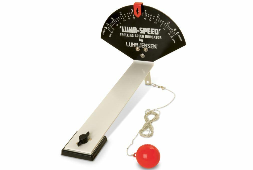 Luhr-Jensen Luhr-Speed Troll Geschwindigkeit Indikator Schleppangeln Tacho