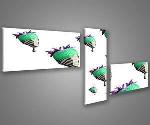 Quadri moderni astratti 180 x 70 stampe su tela canvas con telaio MIX-S/_121
