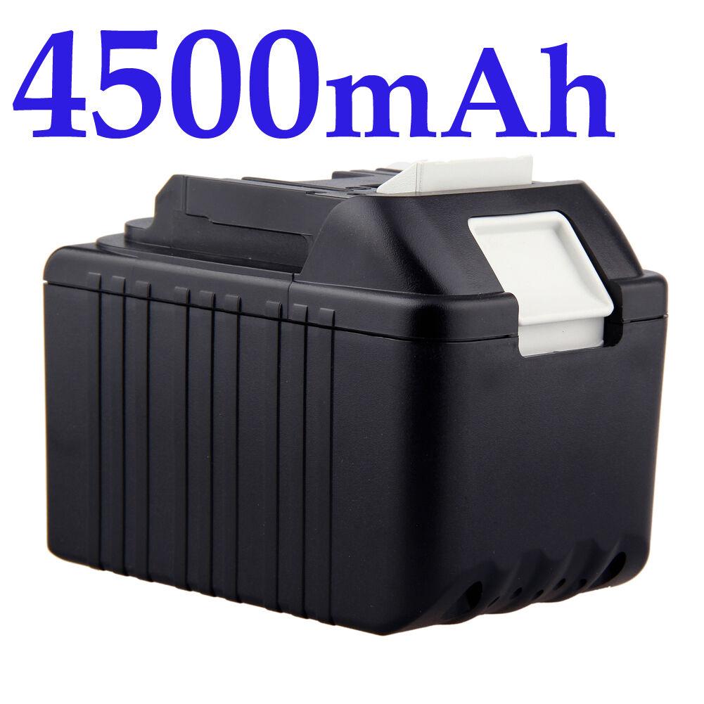 18V 4500mAh Battery for Makita BL1830 BL1840 BL1815 BL1835 194205-3 LXT400