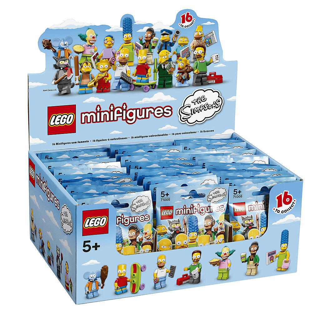(EUR 4 99 Stück) DISPLAY mit 60 60 60 Stück LEGO® MINIFIGUREN 71005   The SIMPSONS 1  4d7b77
