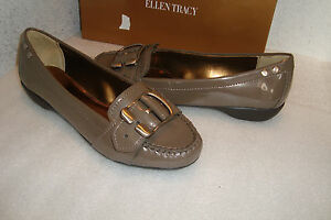 Ellen Tracy Damenschuhe Damenschuhe Damenschuhe NWB Baldwin Antique Bronze Patent Schuhes 6.5 MED 6997ed