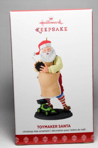 2017 Keepsake Ornament Hallmark Toymaker Santa Series 18th