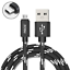 miniature 1 - 4ft, 6ft, 10ft Micro USB Cable FAST Charger Data Sync Braided Cord for Motorola