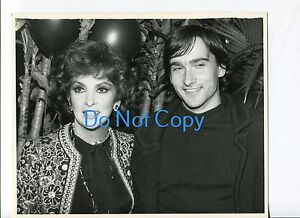 Gina-Lollobrigida-Milko-Skofic-Jr-Regine-039-s-Disco-Party-Original-UPI-Press-Photo