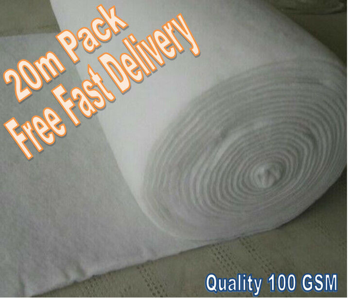 20 m2 Weed Prevention Fabric - Strong Non Woven Geo Textile Membrane Fleece 20m2