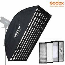 DE GODOX 35x160cm Softbox Mit Gitter with Bowens Speedring Für Studio Blitze