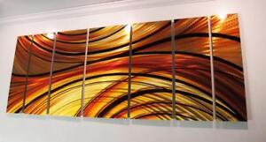 Modern-Abstract-Metal-Wall-Art-Painting-Sculpture-Decor