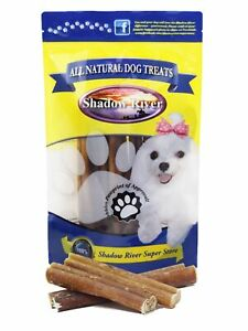 Shadow River 6 Inch JUMBO All Natural Premium Beef Bully Sticks Dog Chew Treats