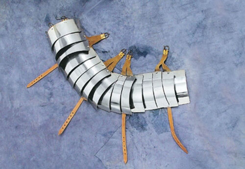 Battle Merchant Lorica Segmentata Armschutz Armschienen Plattenrüstung Rüstung