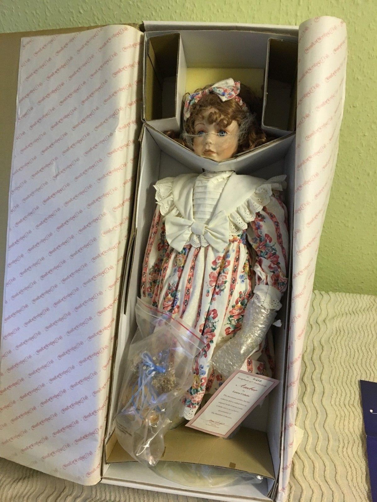 ASHTON-DRAKE  AMBRA   Bambola Di Porcellana  sconto di vendita