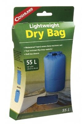 Dynamic Coghlans Pack Bag Dry Bag Blue 55l Waterproof Tote Bag Roll Closure Rice Outstanding Features Camping & Hiking