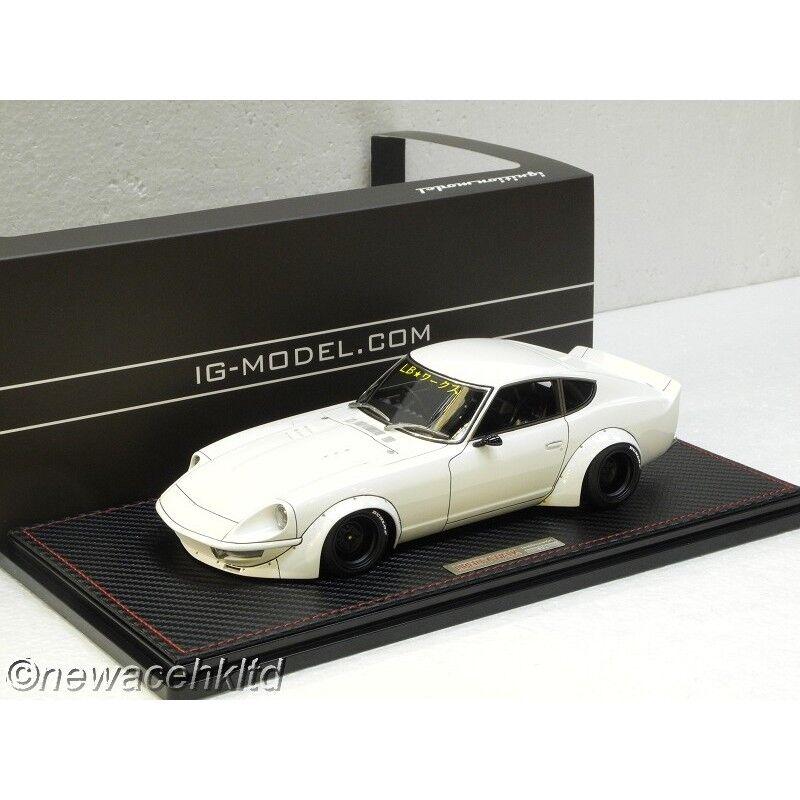 risparmiare fino all'80% Nissan LB-lavoroS Fairlady Fairlady Fairlady Z (S30) bianca IGNITION modello 1 18  IG1100  Sconto del 40%