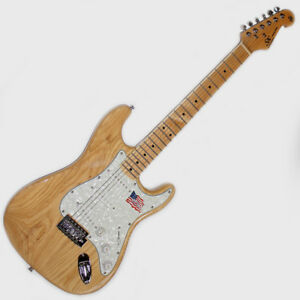 SX ELECTRIC GUITAR STRAT SHAPE STUNNING AMERICAN SWAMP ASH BODY