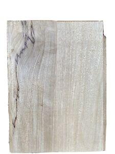 22x16X1.9 Kiln Dried Korina//White Limba 1 Pc blk