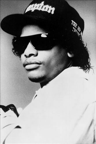 Quanto sopra Occhiali da sole-Old School gangster Eazy-E B.G. Knocc Out Dresta Ice Cube