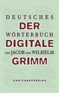 Deutsches-Woerterbuch-2-CD-ROMs-Der-digitale-Grimm-Software-Zustand-gut