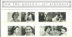 GB-Presentation-Pack-383-2006-H-M-The-Queen-039-s-80th-Birthday