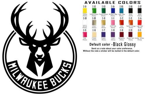 NBA Vinyl Decal Sticker Car Window Design Wall Art Sport Basketball Team Logos