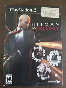 Hitman Trilogy 2 Silent Assassin Contracts Blood Money Playstation