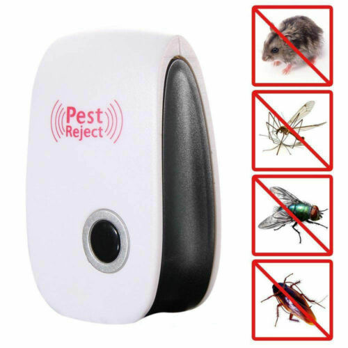 Ultrasonic Pest Reject Magnetic Repeller Anti Mosquito Mouse Insect Killer EE
