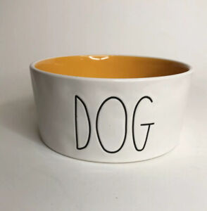 Rae-Dunn-Pet-Bowl-Used-DOG-Artisan-Collection-By-Magenta