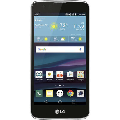 AT&T GoPhone - LG Phoenix 2 4G LTE with 16GB Memory Prepaid Cell Phone - Black