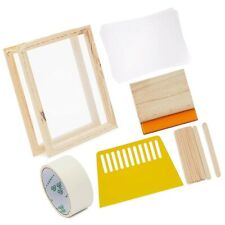 20 Piece Screen Printing Starter Kit For Tee Shirts Posters Totes 10 X 14