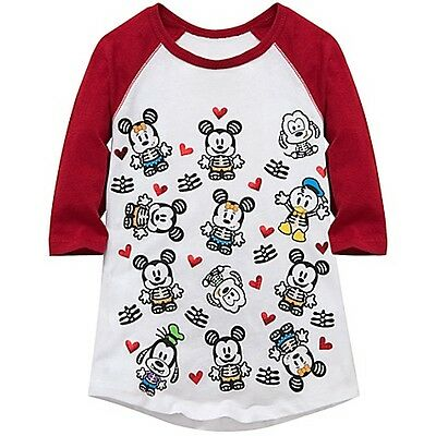 Monteau/'s Max /& Riley Girls/' Mixed-Media Raglan-Sleeve T-Shirt Size M 10-12