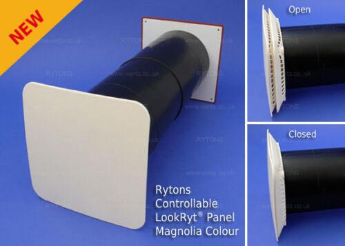 Air vent-Rytons 125mm dérouté Aircore Avec Lookryt contrôlable panneau ac7hp