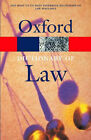 A Dictionary of Law by Oxford University Press (Paperback, 2003)