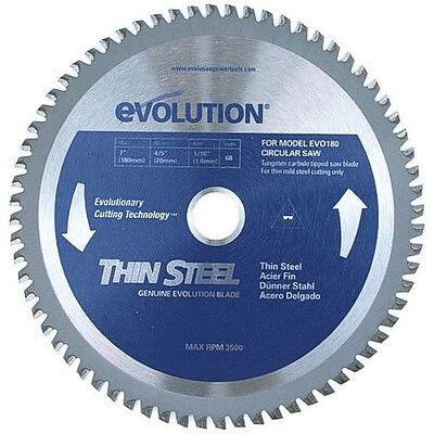 "Evolution 7/"" Thin Steel 180mm Blade 180BLADETS"