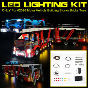 For-LEGO-42098-Motor-Vehicle-Building-Bricks-ONLY-LED-Light-Lighting-Kit