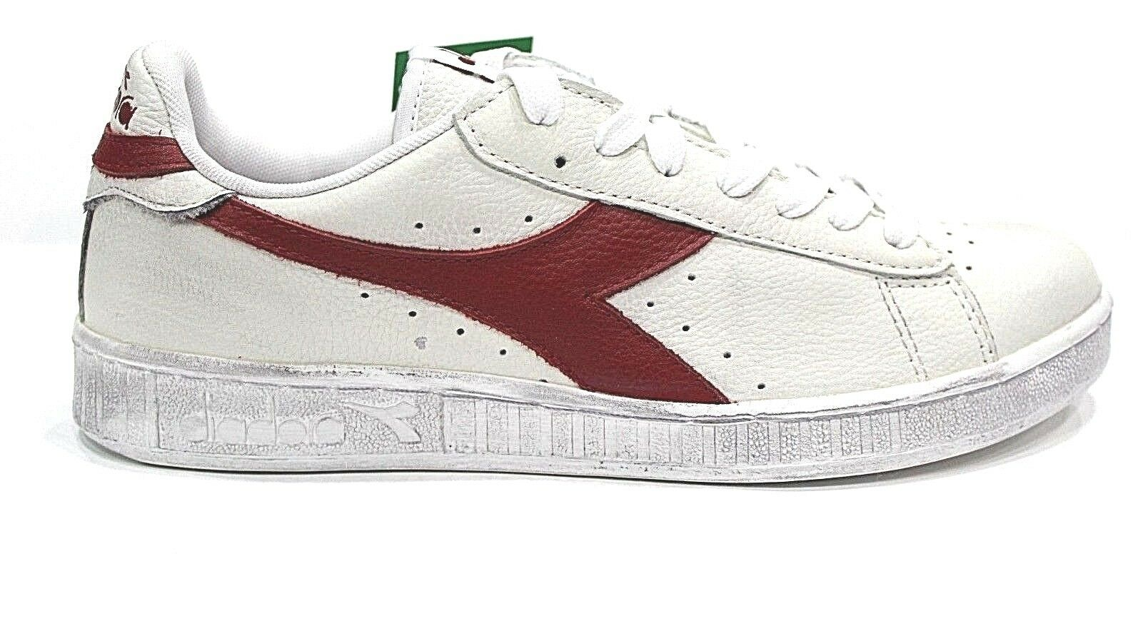 Scarpe Diadora GAME L Low Shoes Sneakers basse Unisex White Red