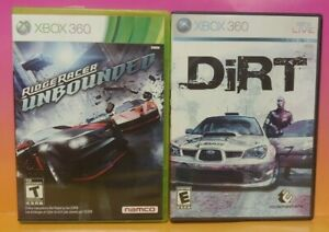 DIRT-Ridge-Racer-Unbounded-Racing-XBOX-360-Games-Lot-Tested-Working