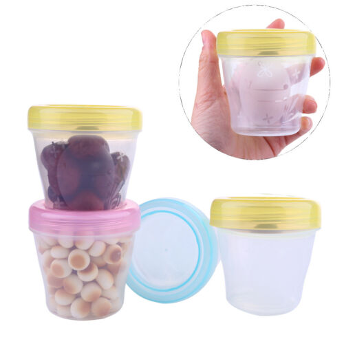 3-PCS Kids Baby Snack Box Safety Baby Milk Powder Container Snack Box Container