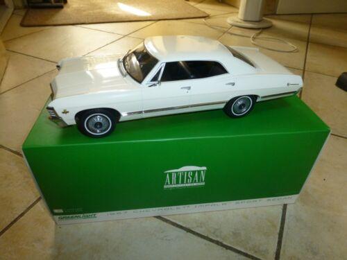 Chevrolet Impala Sport Berline 1967 Greenlight Artisan 1/18