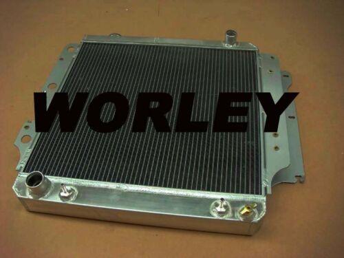 Aluminum radiator for Jeep Wrangler YJ TJ LJ 2.4 2.5 L4 4.0 4.2 L6 RHD 1987-2006