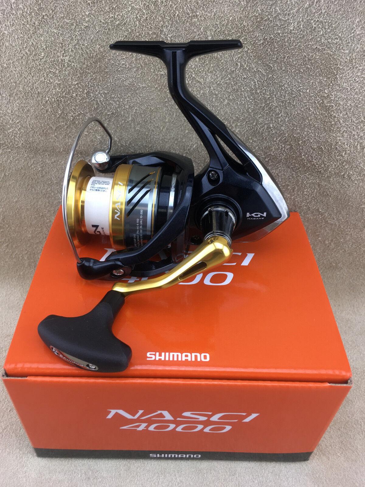 Nuevo Shimano Nasci Fb Carrete para Caña de de de Pescar Arrastre Delante 7a963a