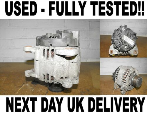 VW TIGUAN CRAFTER 2.0 2.5 2006 2007 2008 2009-2015 FULLY WORKING ALTERNATOR