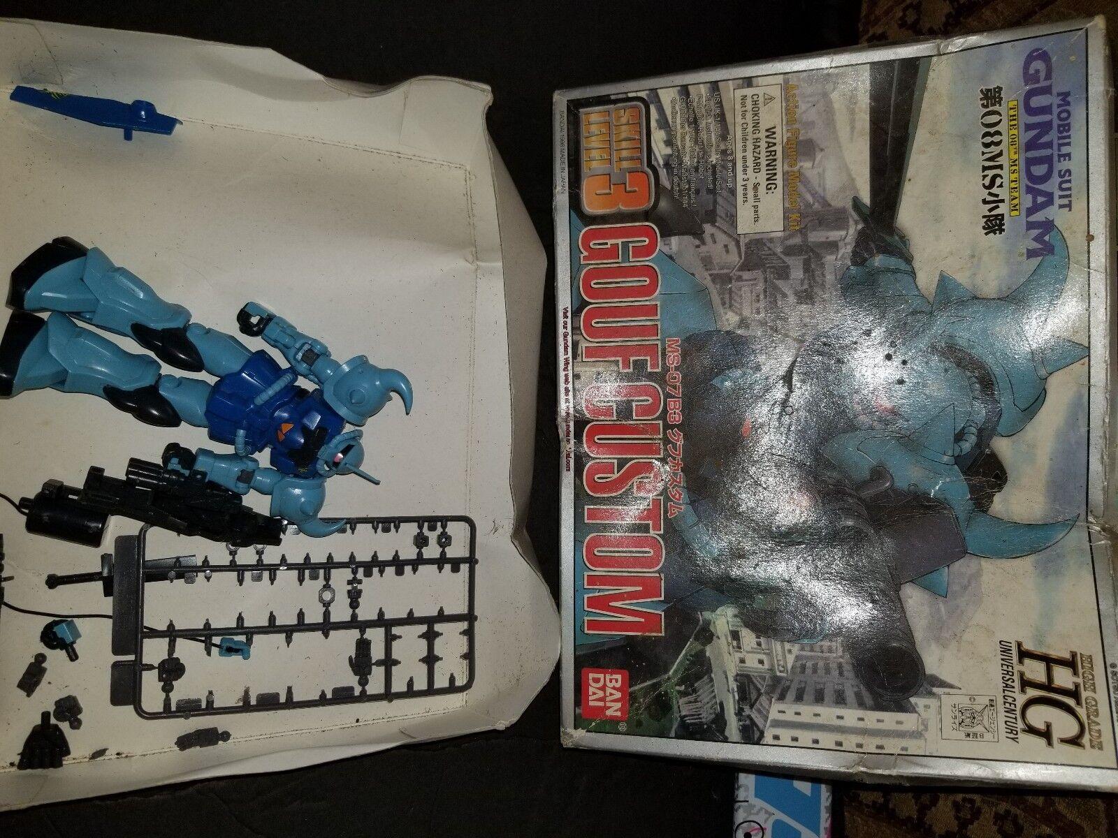 HGUC 1//144 MS-07B Mobile Suit Gundam The 08th MS Team Bandai Gundam Gouf Custom