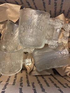 vintage mcdonslds flinstones cups lightly used  8 Total 4 Designs