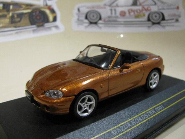 1/43 Mazda Roadster MX5 MX-5 Diecast (naranja metálico)