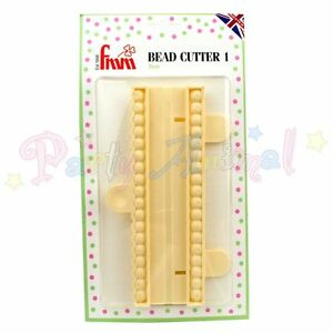 FMM-String-of-Pearls-Bead-Cutter-Number-ONE-Sugarcraft-Cake-Decorating-Craft