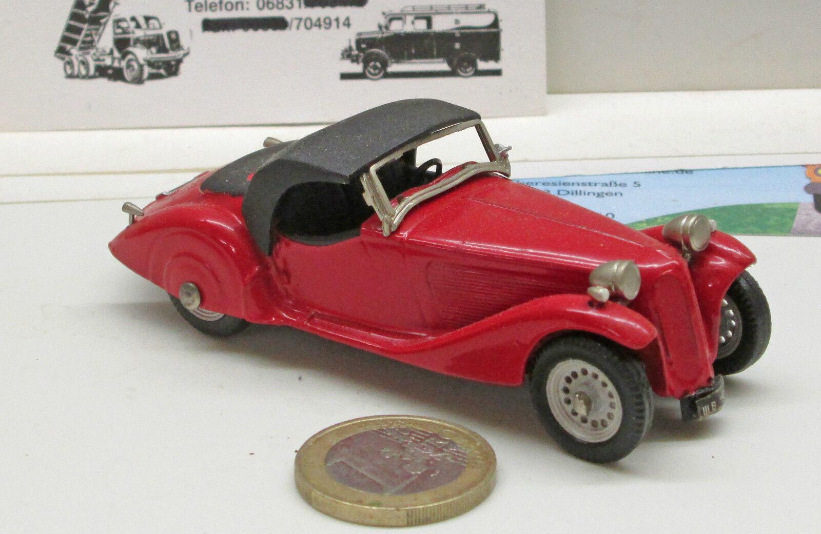 Western models: BMW 315/1 1939, Rosso