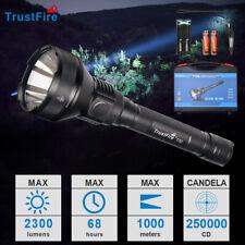 TrustFire T70 de 2300 lúmenes LED Linterna de caza 1000 metros Con...